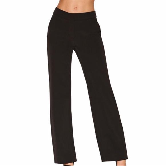 a88903d5eb3785 Boston Proper Pants | Flare Bottom Black Crepe 6 | Poshmark